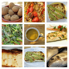 canarian cuisine collage
