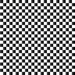 Checkered flag background. Seamless chessboard.