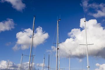 Sailboat masts