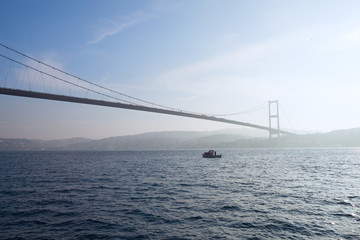 Bosphorus Bridge, Istanbul , Turkey