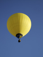 Low angle view of a hot air balloon