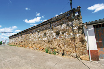 Wall Mural - Calle de Guijo de Granadilla, Cáceres, España