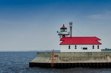 Lighthouse on Lake Superior