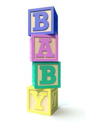 Stacked Baby Blocks