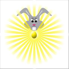 Evil Easter Bunny Prize Egg