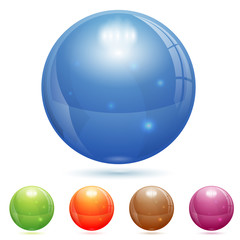3D Glass Ball