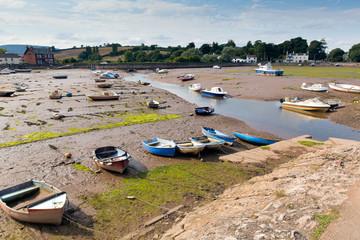 Wall Mural - Low tide Cockwood near Starcross Devon River Exe
