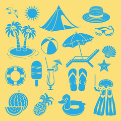 Summer icon.
