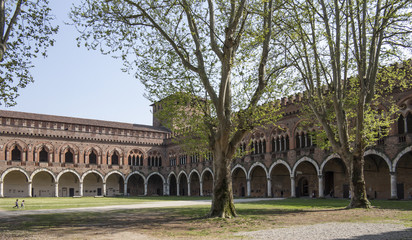 Castle in Pavia, Italy