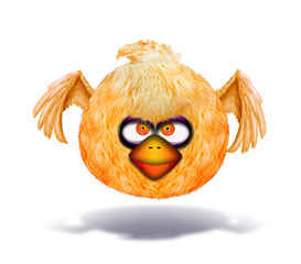 Baby angry bird