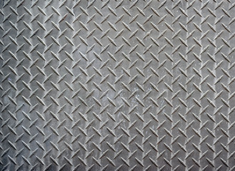 Metal diamond texture background
