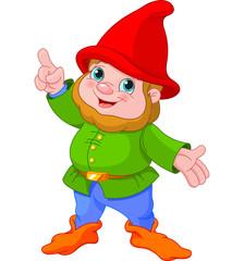 Cute Gnome presenting
