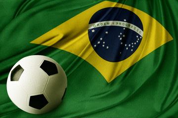 Flag and ball