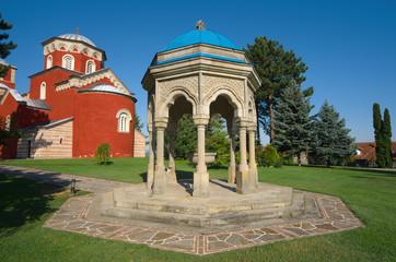 Zica Monastery In Kraljevo, Serbia