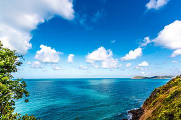 landscape with nice sky over sea