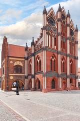 Rathaus in Tangermünde, Sachsen-Anhalt
