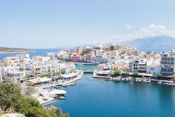 Kreta - Griechenland - Hafen von Agios Nikolaos