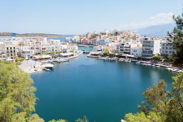 Kreta - Griechenland - Binnensee Voulismeni von Agios Nikolaos