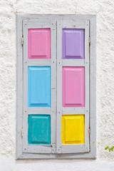 Kreta - Griechenland - Bunte Fensterläden