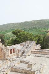 Kreta - Griechenland - Treppe von Knossos