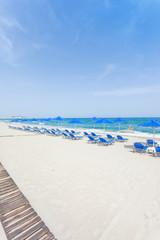 Kreta - Griechenland - Strand von Rethimno