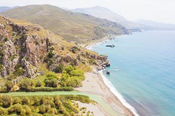 Kreta - Griechenland - Traumstrand von Prevelhi