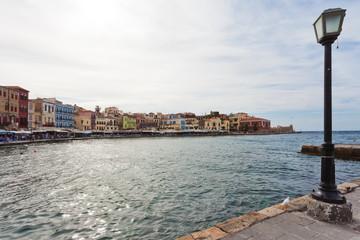 Kreta - Griechenland - Hafen von Chania