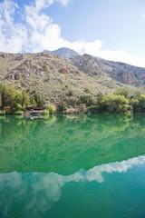 Kreta - Griechenland - Forellen-Zucht in Zaros