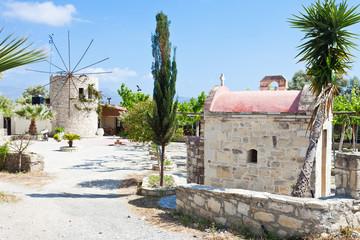 Kreta - Griechenland - Mühle von Agii Deka
