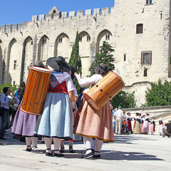 à Avignon