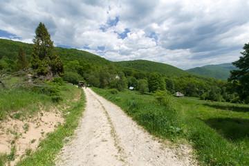 Górski szlak, Bieszczady