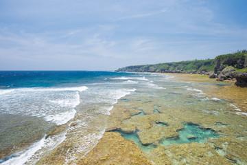 沖縄の海 荒崎海岸