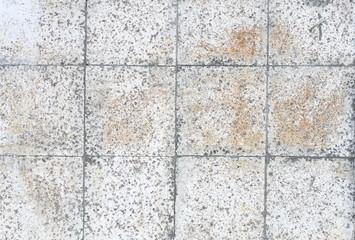 Rough tile background