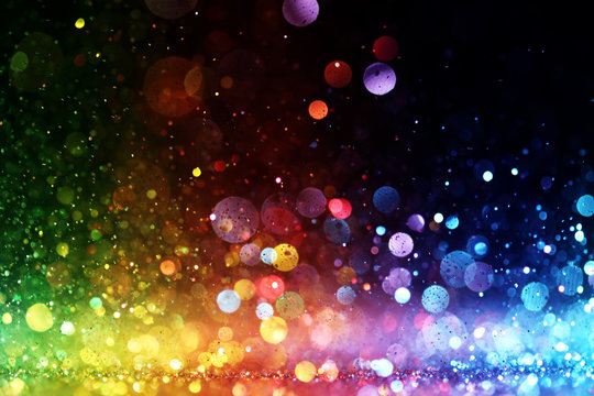 Rainbow of lights