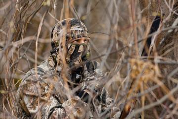 well hidden hunter calls duck