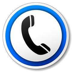 Vector phone design icon