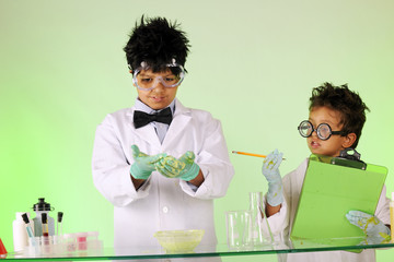 Mad Scientist Brothers at Work