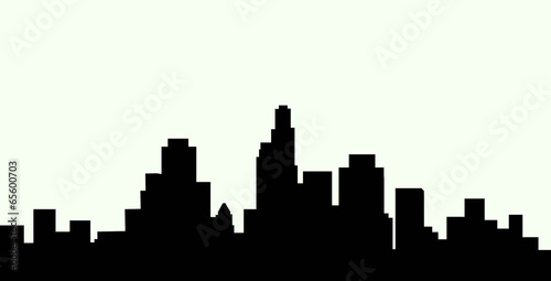 los angeles skyline vector stock image and royalty free vector rh fotolia com los angeles skyline outline vector