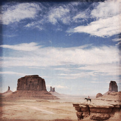 USA - Monument valley (effet vintage)