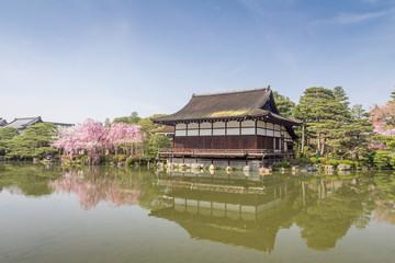 Japanese Garden in Kyoto, Japan