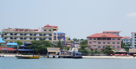 Sihanoukville in Kambodscha