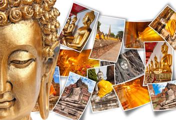 bouddhas de Thaïlande