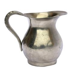 Old pewter jug