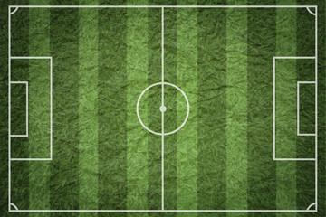 Wall Mural - soccer field