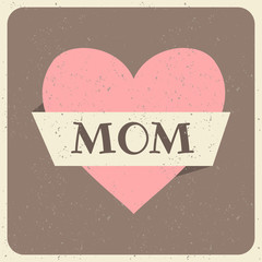 Mother's Day Greeting Card Design