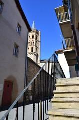 clocher de l'église Notre Dame de L'Espinase, Millau