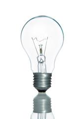 Lamp light bulb isolated