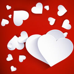Heart for Valentines Day. EPS 10