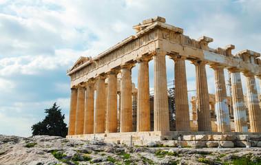 Parthenon at Acropolis in Athens, Greece