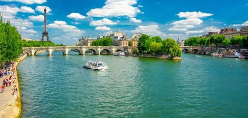 Fotomurales - Berges de la Seine à Paris